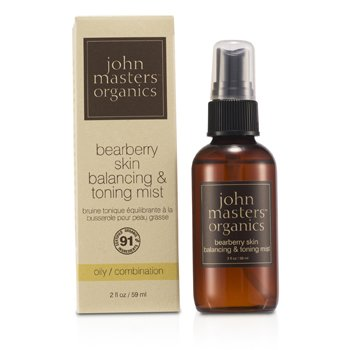 John Masters Organics Bearberry Oily Skin Balancing & Toning Mist (For Oily/ Combination Skin)  59ml/2oz