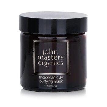 John Masters Organics Mascarilla purificante Arcilla Marroquí ( Piel Grasa/Mixta )  57g/2oz