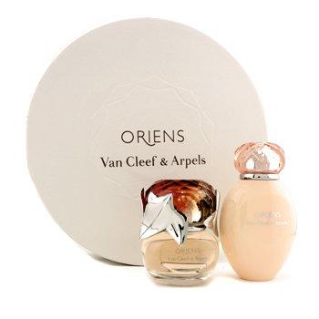 Van Cleef & Arpels Oriens Coffret: Eau De Parfum Spray 50ml/1.7oz + Loción Corporal 150ml/5oz (Round Box)  2pcs