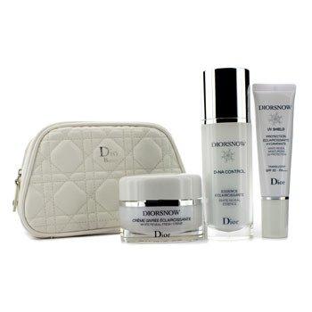 Christian Dior Creme Diorsnow White Reveal Program Collection Voyage F037027800  3pcs+1bag