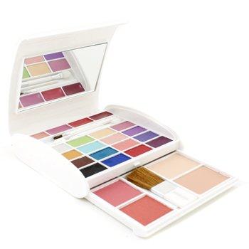 Arezia Set Maquillaje AZ 2190 ( 16x Sombras Ojos, 2x Rubor, 2x Polvos Compactos, 4x gloss labial, 3x Aplicadores ) - #02  36.8g