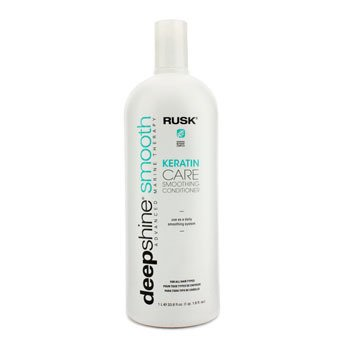 Rusk Deepshine Smooth Keratin Care silendav palsam  1000ml/33.8oz