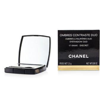 Chanel Duo de Sombras Contraste - # 17 Khaki/ Discret  2.5g/0.09oz