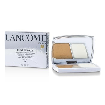 Lancome Teint Miracle Natural Iluminador Compacto SPF 15 - # 01 Beige Albatre  9g/0.31oz