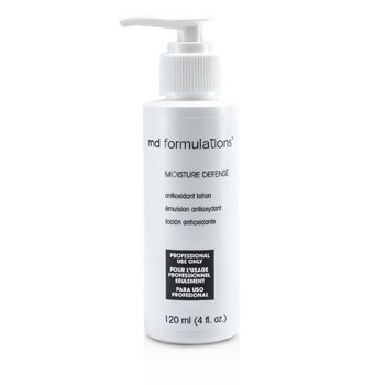 MD Formulations Loción Defensa Hidratante Antioxidante  ( Tamaño Salón )  120ml/4oz