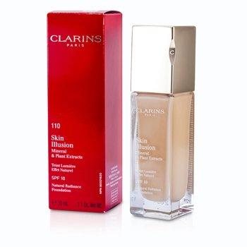 Clarins Base Skin Illusion Natural Radiance Foundation SPF 10 - # 110 Honey  30ml/1.1oz