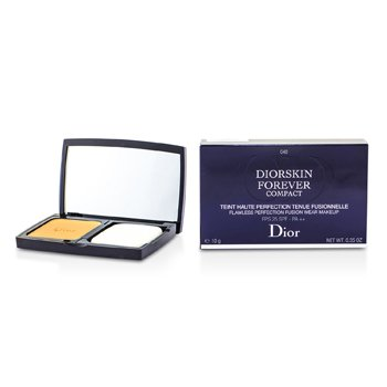 Christian Dior Diorskin Forever Compact Flawless Perfection Fusion Wear Makeup SPF 25 - #040 Honey Beige  10g/0.35oz