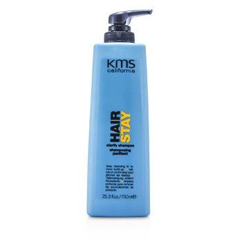 KMS California Oczyszczający szampon do włosów Hair Stay Clarify Shampoo (Deep Cleansing To Remove Build-Up)  750ml/25.3oz