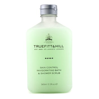 Truefitt & Hill Skin Control Invigorating Scrub Rendam & Mandi  365ml/12.3oz