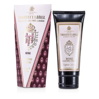 Truefitt & Hill Rose Shaving Cream (Travel Tube)  75g/2.6oz