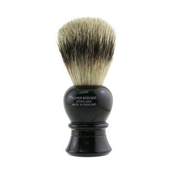 Truefitt & Hill Карлтон Супер пензель для гоління з ворсу борсука - Ебоніт  -