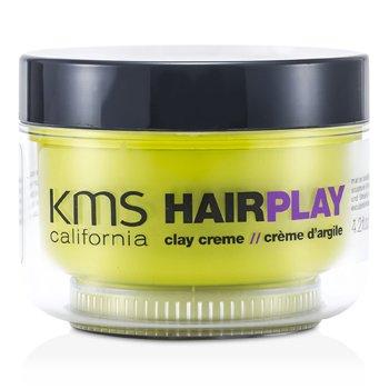 KMS California Krem do stylizacji włosów Hair Play Clay Creme (Matte Sculpting & Texture)  125ml/4.2oz