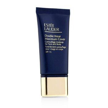 Estee Lauder Double Wear Maximum Cover Dlhotrvajúci krycí make-up (na tvár a telo) SPF15 – 03 CreamyVanilla  30ml/1oz