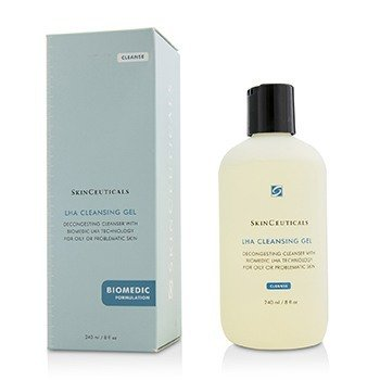 Skin Ceuticals LHA Cleansing Gel  240ml/8oz