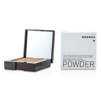 Korres Wild Rose Brightening Flawless Finish Compact Powder - WRP8 (Dark)  10g/0.35oz