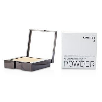 Korres Multivitamin Lightweight/Matte Finish Compact Powder - # MVP6  10g/0.35oz
