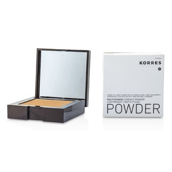 Korres Multivitamin Lightweight/Matte Finish Compact Powder - # MVP7  10g/0.35oz
