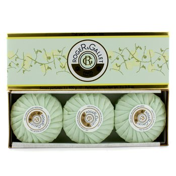 Roge & Gallet Green Tea (The Vert) Estuche Jabones Perfumados  3x100g/3.5oz
