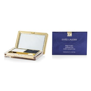 Estee Lauder New Pure Color Eyeshadow Duo - 06 Clouds  3.5g/0.12oz