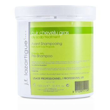 J. F. Lazartigue Propolis Jelly Treatment Pre Champú Cuero cabelludo Graso (Tamaño Salón)  1000ml/33.8oz