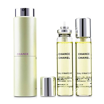 Chanel Chance Eau Fraiche Twist & Spray Тоалетна Вода  3x20ml/0.7oz