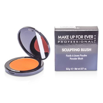 Make Up For Ever Sculpting Blush Powder Blush - #22 (Iridescent Orange Coral)  5.5g/0.17oz