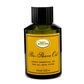 The Art Of Shaving Pre Shave Oil - Lemon Essential Oil (For All Skin Types, Unboxed)  60ml/2oz