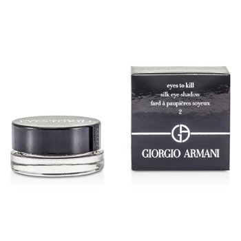 Giorgio Armani Eyes To Kill Silk Eye Shadow - # 02 Lust Red  4g/0.14oz