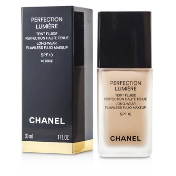Chanel Perfection Lumiere Long Wear Flawless Fluid Make Up SPF 10 - # 40 Beige  30ml/1oz