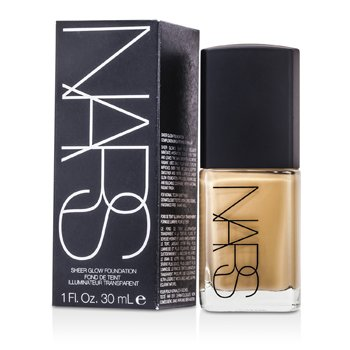 NARS Sheer Glow Foundation - Ceylan (Light 6 - For Asian Skin Light-Medium w/ Yellow Undertone)  30ml/1oz