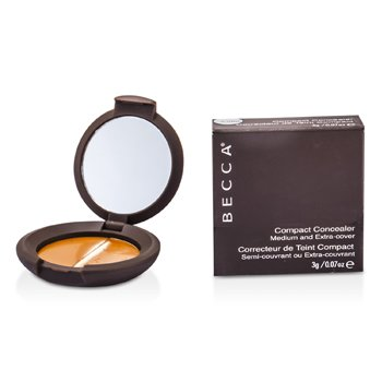 Becca Compact Concealer Medium & Extra Cover Konsiler - # Fudge  3g/0.07oz
