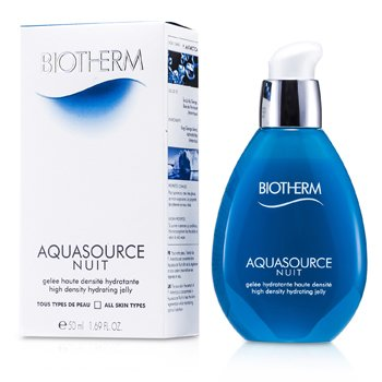 Biotherm Aquasource Nuit High Density Hydrating Jelly (For alle hudtyper)  50ml/1.69oz