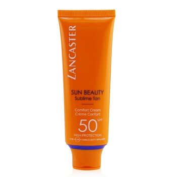Lancaster Creme Sun Beauty Comfort Touch Cream Gentle Tan SPF 50  50ml/1.7oz
