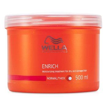 Wella ماسک مرطوب کننده موهای خشک و آسیب دیده Enrich (برای موی معمولی/پر پشت)  500ml/16.7oz