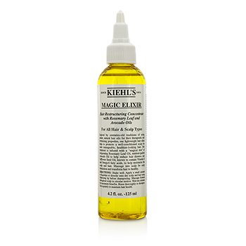 Kiehl's Magic Elixir Hair Restructuring Concentrate With Rosemary Leaf And Avocado (for alle hårtyper og hodebunn)  125ml/4.2oz