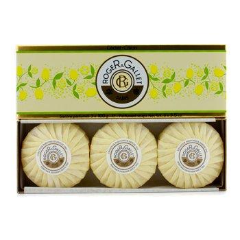 Roge & Gallet Cedrat (Citron) Perfumed Soap Coffret  3x100g/3.5oz