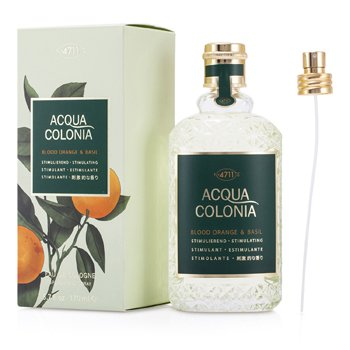 4711 Acqua Colonia Blood Orange & Basil Eau De Cologne Vaporizador  170ml/5.7oz