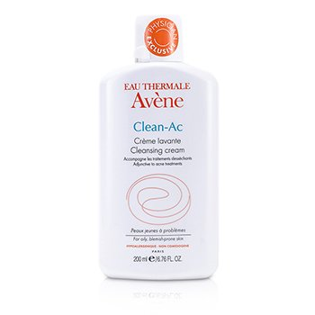 Avene Clean-AC Cleansing Cream (For Oily, Blemish-Prone Skin)  200ml/6.76oz