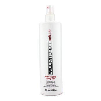 Paul Mitchell Soft Style Gel Estilo Flexible Esculpido Suave  500ml/16.9oz