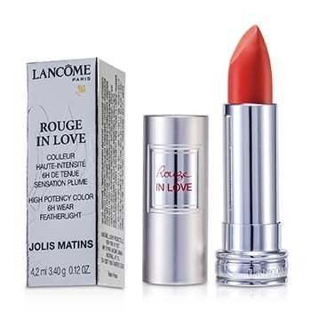 Lancôme Batom Rouge In Love Lipstick - # 106M Jolis Matins  4.2ml/0.12oz