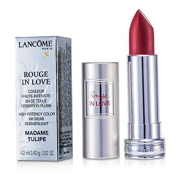 Lancôme Batom Rouge In Love Lipstick - # 156B Madame Tulipe  4.2ml/0.12oz