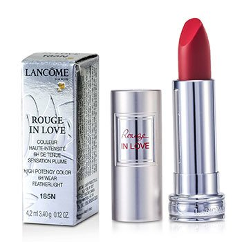 Lancome Rouge In Love Lipstick - # 185N Rouge Valentine  4.2ml/0.12oz