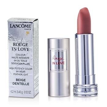 Lancome Rouge In Love Lipstick - # 300M Beige Dentelle  4.2ml/0.12oz