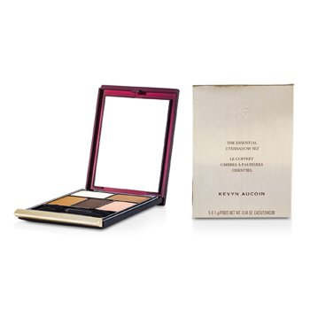Kevyn Aucoin The Essential Eye Shadow Set - Palette #1  5x1g/0.04oz