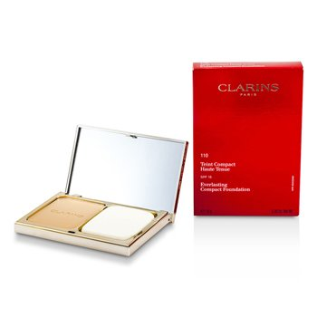 Clarins Podkład w kompakcie Everlasting Compact Foundation SPF 15 - #110 Honey  10g/0.35oz