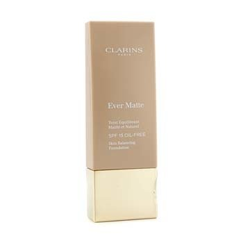 Clarins Ever Matte Skin Balancing Base de Maquillaje libre de Aceite SPF 15 - # 107 Beige  30ml/1.1oz