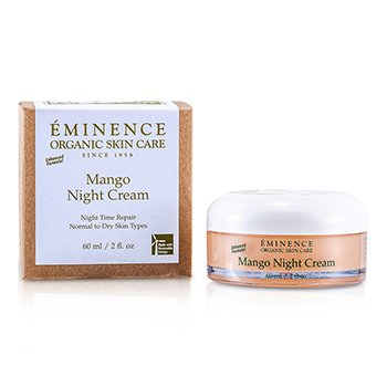 Eminence Mango Crema Noche (Piel normal a Seca Skin)  60ml/2oz