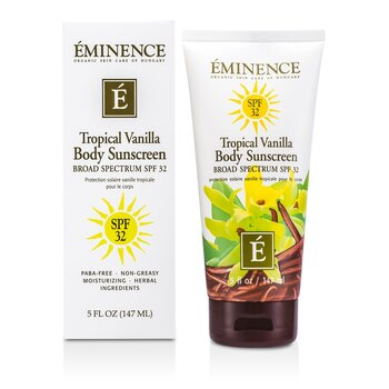 Eminence Vainilla corporal Tropical SPF 32  147ml/5oz