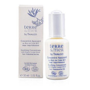 Thalgo Terre & Mer Soothing Concentrate With Organic Juniper Wood (Salon Size)  30ml/1oz