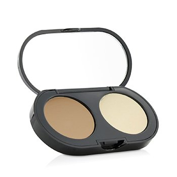 Bobbi Brown New Creamy Corrector Kit - Honey Corrector Cremoso + Polvos Prensados Acabado amarillo  3.1g/0.11oz